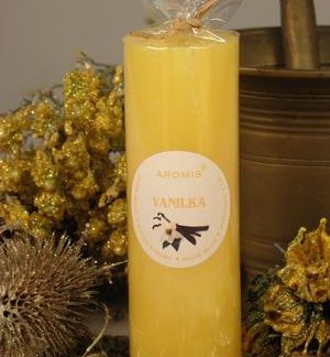 Aromatická svíčka Vanilka válec