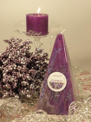 Aromatická svíčka Levandule jehlan