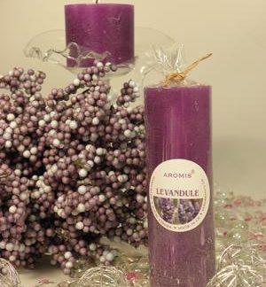 Aromatická svíčka Levandule válec