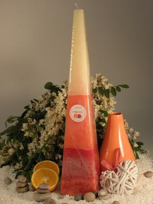 Aromatická svíčka Pomeranč jehlan
