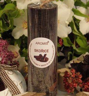 Aromatická svíčka Skořice válec
