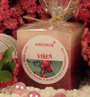 Aromatická svíčka Višeň kostka