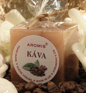 Aromatická svíčka Káva kostka